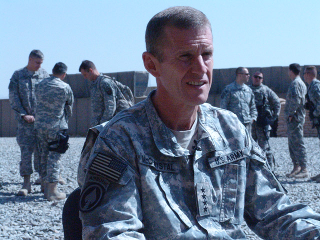Gen. Stanley Mc Chrystal