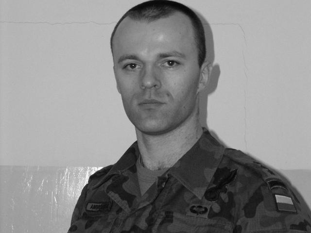 Daniel Ambroziński, poległy 10 sierpnia 2009 r./fot. PKW Afganistan