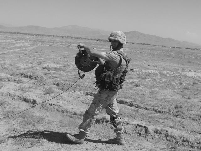 Szymon Graczyk, poległy 9 października 2009 r./fot. PKW Afganistan