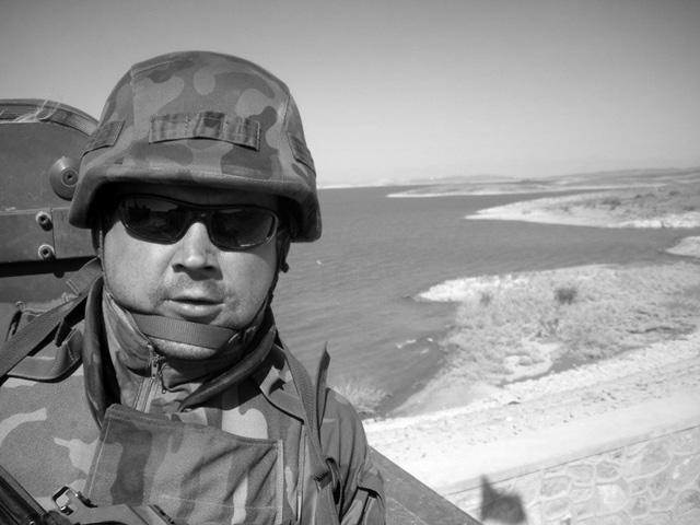 Piotr Marciniak, poległy 10 września 2009 r./fot. PKW Afganistan