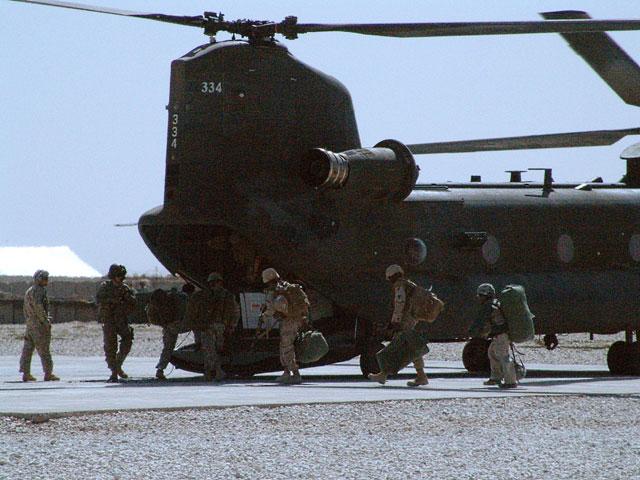 Kto pokombinował, ten dostał się na lot z mniejszej bazy do Bagram - wynika z relacji żołnierzy VI zmiany/fot. Marcin Ogdowski