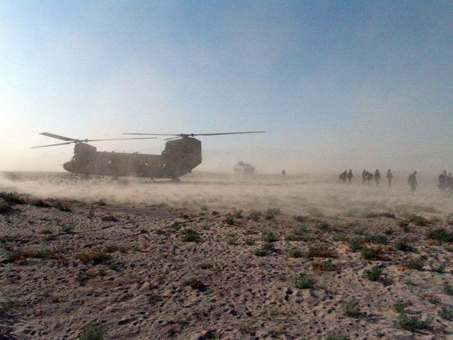 Czy zrotowanie kontyngentu przekracza zdolności logistyczne naszej armii?/fot. Marcin Ogdowski