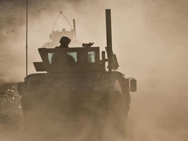 Niemal nie ma patroli, które nie wchodziłyby w kontakt.../fot. Adam Roik, Combat-Camera DOSZ