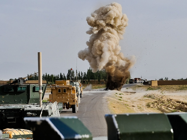 Z danych Dowództwa Operacyjnego wynika, że w ciągu ostatnich 3 miesięcy rannych zostało 71 żołnierzy. Wielu na skutek eksplozji IED.../fot. Adam Roik, CCDOSZ