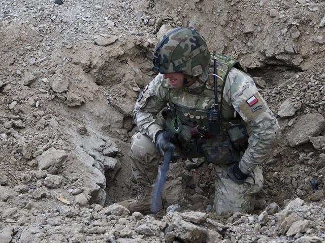 Saperzy - cisi bohaterowie polskiej misji/fot. Adam Roik, Combat Camera DOSZ