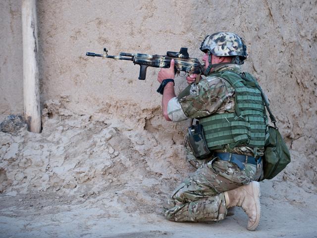 Talibom zabić Polaka jest mimo wszystko bardzo trudno.../fot. Adam Roik, Combat Camera DOSZ