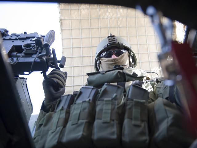 Na patrolu.../fot. Adam Roik, Combat Camera DOSZ
