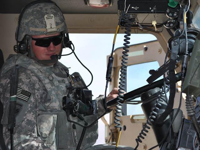 Amerykanów w bazie Ghazni nie brakuje/fot. Marcin Ogdowski