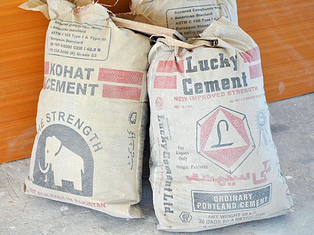 Nie zawsze cement, a wówczas niekoniecznie szczęśliwy.../fot. Marcin Ogdowski