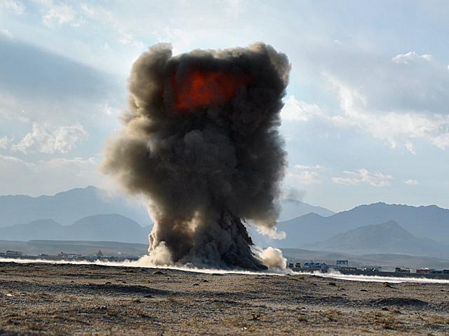IED, obok RPG, to podstawowa broń talibów/fot. Marcin Ogdowski
