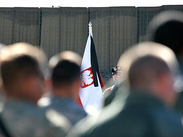 Zdjęcie z pożegnania poległych/fot. Artur Weber, PIO PKW Afganistan