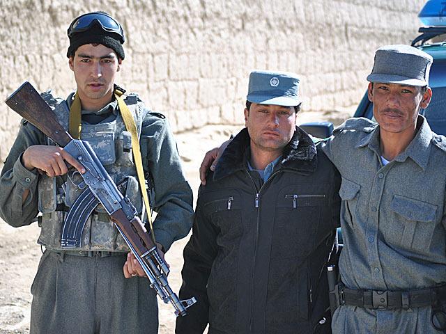 Celem POMLeT-u jest szkolenie afgańskiej policji/fot. Marcin Ogdowski