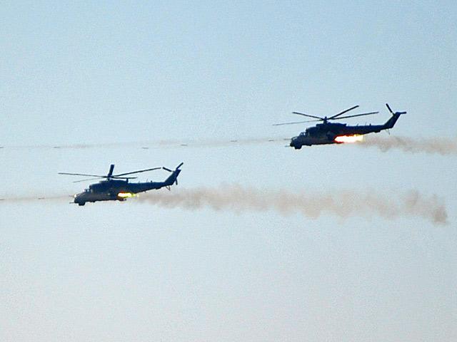 Choć nienajmłodsze, Mi-24 budzą respekt.../fot. Marcin Ogdowski