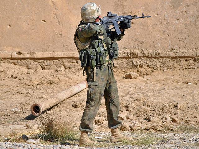 Lęk do zwykle niewidzialny, lecz nieodłączny towarzysz każdego żołnierza/fot. Marcin Ogdowski