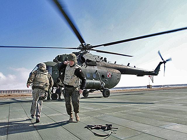 Helipad w Warrior/fot. Marcin Wójcik. Zdjęcie wykonane aparatem Canon EOS 7D