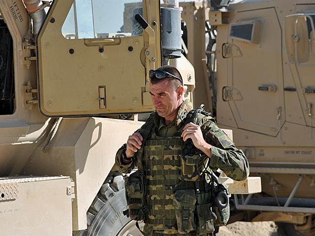 Przed wyjazdem na patrol/fot. Marcin Ogdowski