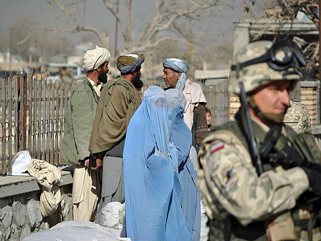 W centrum Ghazni.../fot. Marcin Ogdowski