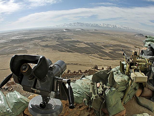 """Widok z """"góry szpiega""""/fot. Marcin  Wójcik, zdjęcie wykonane aparatem Canon EOS 7D"""
