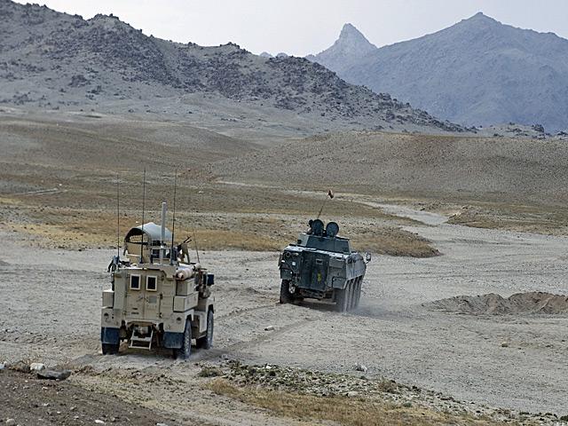 Surowa przyroda Afganistanu doskonale wpisuje się w kontekst opisanej historii. I problemu jako takiego.../fot. Adam Roik