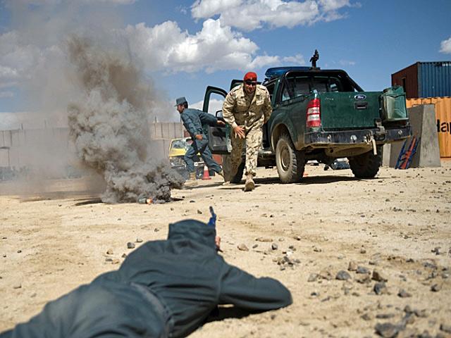 To, że Polacy będą już tylko szkolić, nie oznacza, że w Afganistanie skończy się wojna.../fot. Szczepan Głuszczak