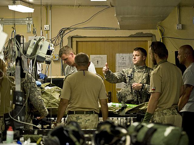 Urazy akustyczne dotykają większość żołnierzy, którzy padli ofiarą IED/fot. Adam Roik