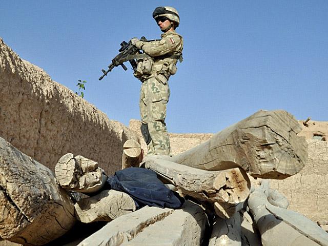 Państwo musi dbać o żołnierzy nie tylko wtedy, gdy wysyła ich na wojnę...fot. Szczepan Głuszczak