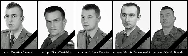 Polegli żołnierze/fot. PKW Afganistan