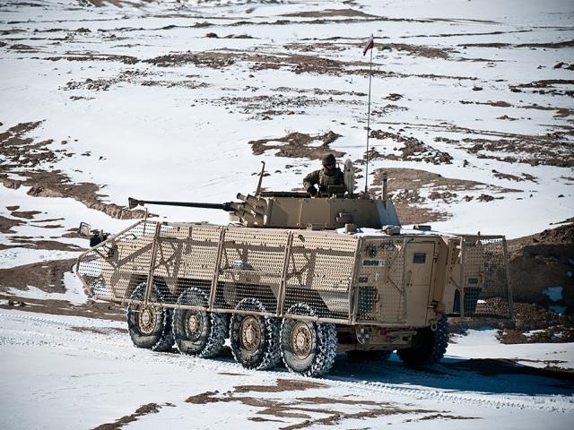 W Afganistanie zima w pełni - podobnie, jak w Polsce/fot. Sebastian Kinasiewicz