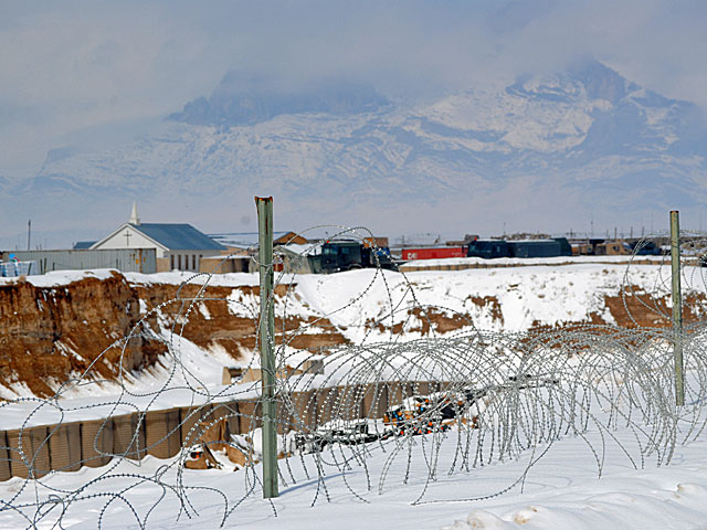 Panorama bazy z okolic tak zwanego kanionu/fot. Marcin Ogdowski