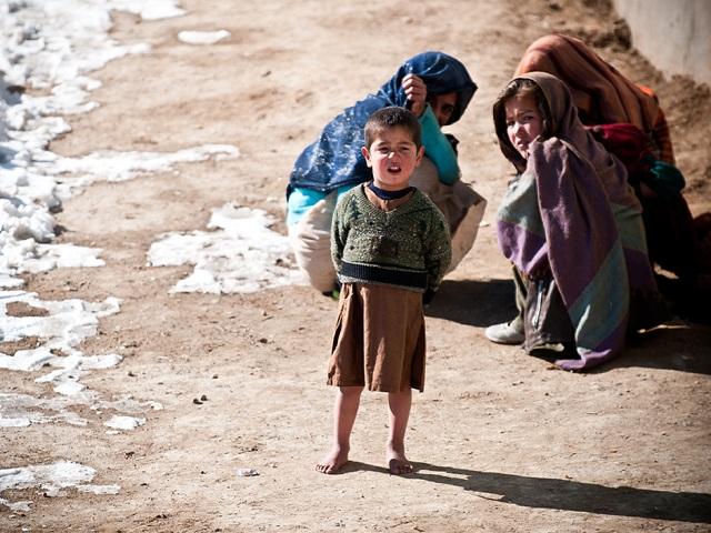 ... w Afganistanie dalej jest koszmarna bieda.../fot. Sebastian Kinasiewicz