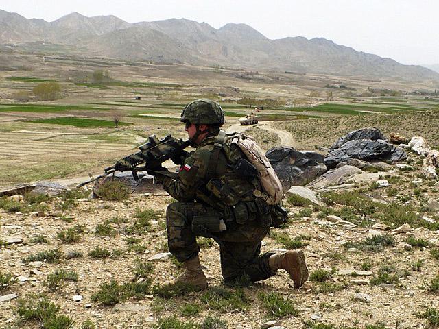 """... """"robimy dalej swoje"""" - zapewnia mnie autor cytowanego wyżej listu/fot. PIO Afganistan"""