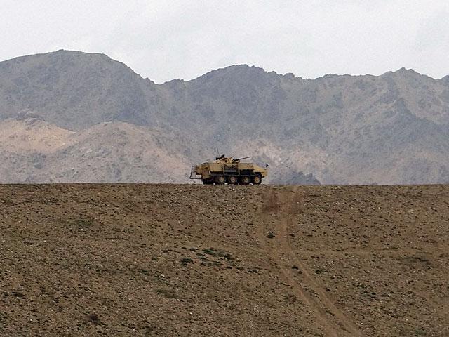"""Afgański """"smutek tropików""""; jakże pasuje do treści wpisu.../fot. PIO Afganistan"""
