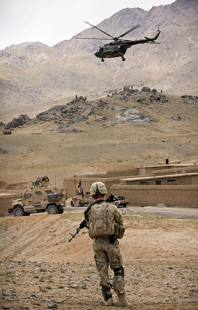 Żołnierz to człowiek - wielu urzędników, także tych w mundurach, zdaje się o tym nie pamiętać.../fot. Katarzyna Szal