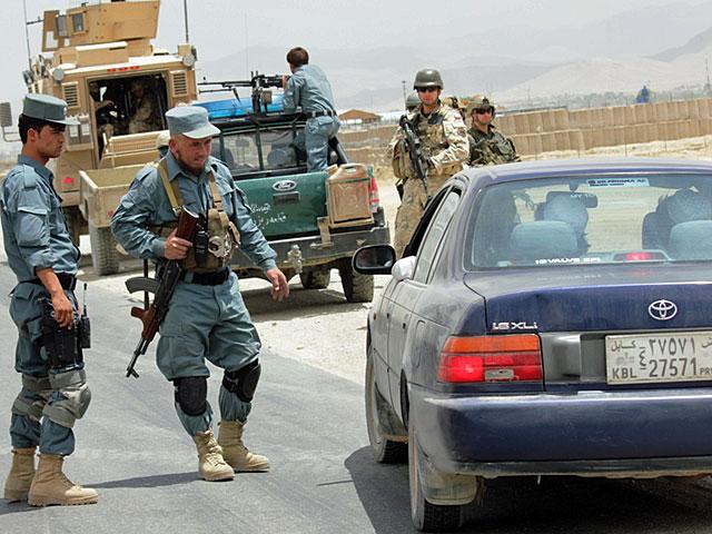 Podczas wspólnych zadań w terenie/fot. PKW Afganistan