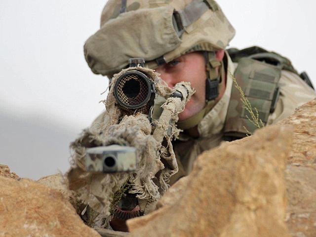 W Afganistanie w ramach Sekcji Strzelców Wyborowych działa kilkanaście osób wyposażonych w karabiny snajperskie/fot. Katarzyna Szal