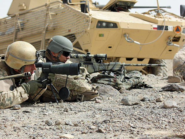 Zdjęcie jak z wojskowego żurnala - ale ma swój urok, prawda?/fot. Katarzyna Szal