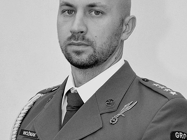 Kapitan Krzysztof Woźniak/fot. PKW Afganistan