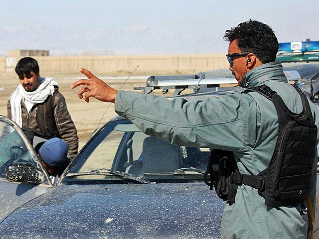W akcji brali udział afgańskie siły bezpieczeństwa/fot. Marcel Podhorodecki
