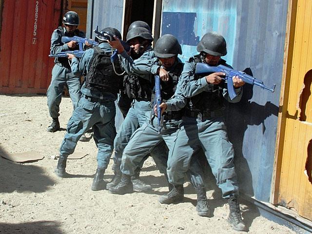 XII zmiana upłynęła też pod znakiem szkolenia afgańskich sił bezpieczeństwa. Najbliższe miesiące pokażą, ile warci są afgańscy żołnierze i policjanci. 28 kwietnia talibowie oficjalnie ogłosili rozpoczęcie wiosenno-letniej ofensywy.../fot. PIO Afganistan