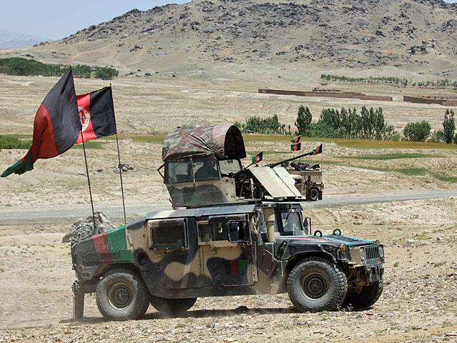 Afgańskie siły bezpieczeństwa w prowincji Ghazni/fot. Katarzyna Szal