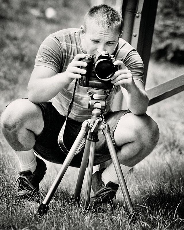 Sebastian Kinasiewicz w obiektywie kolegi z Combat Camery Dariusza Lewtaka