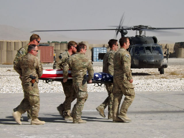 Wczorajsze pożegnanie Amerykanina/fot. Marek Pawlak