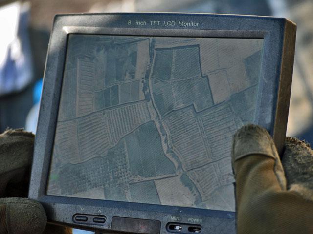 Akcję poprzedziło rozpoznanie z powietrza, przy użyciu BSR-a/fot. Marcin Ogdowski