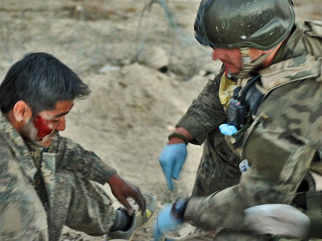 Zdjęcia powstały w trakcie patrolu z żołnierzami ZB Alfa, w październiku br.