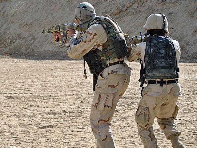 Funkcjonariusze specjalnych oddziałów afgańskiej policji z prowincji Ghazni/fot. Marcin Ogdowski